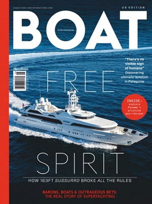 Boat International Magazine | 8/2020 Cover