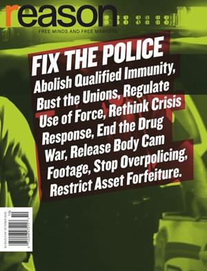 Reason Magazine | 10/2020 Cover