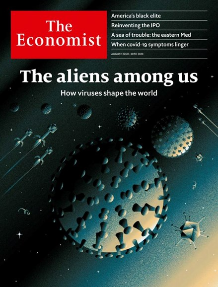The Economist Cover - 8/22/2020