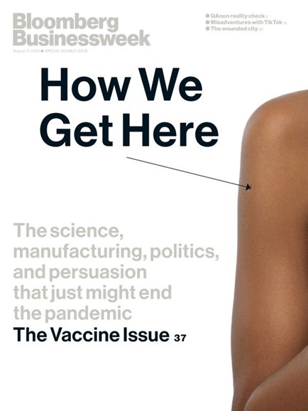 Bloomberg Businessweek Cover - 8/17/2020