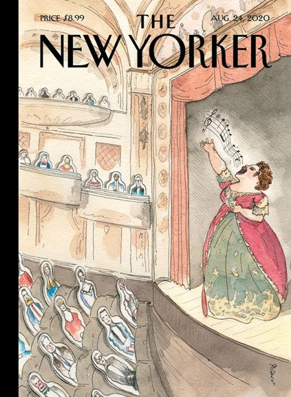 The New Yorker Cover - 8/24/2020