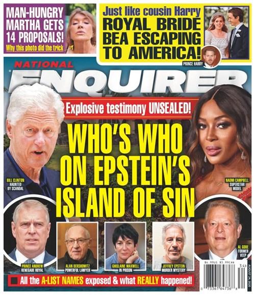 National Enquirer Cover - 8/24/2020