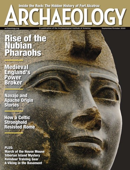 Archaeology Cover - 9/1/2020