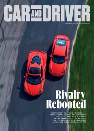 Car And Driver Magazine | 9/2020 Cover