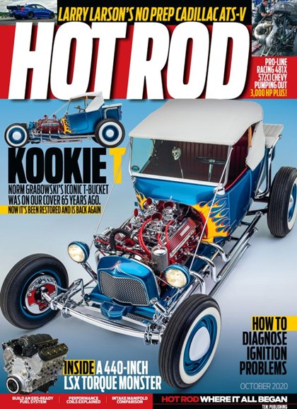 Hot Rod Cover - 10/1/2020
