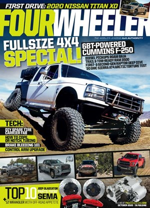 Four Wheeler Magazine | 10/2020 Cover