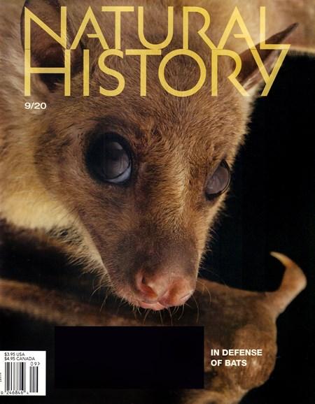 Natural History Cover - 9/1/2020
