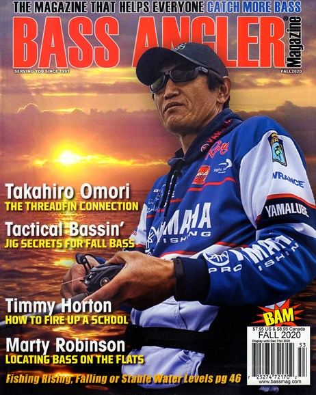 Bass Angler Cover - 9/1/2020