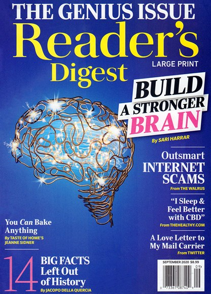 Reader's Digest - Large Print Edition Cover - 9/1/2020