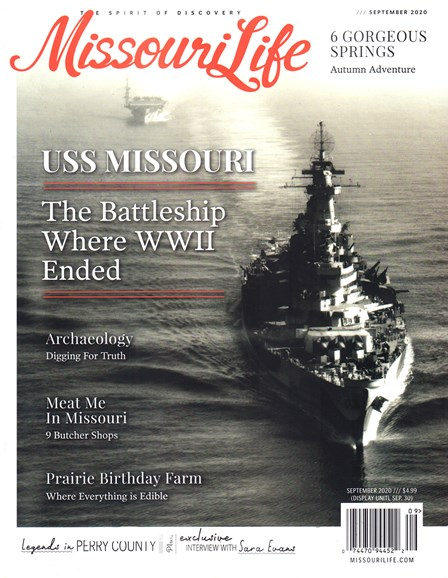 Missouri Life Cover - 9/1/2020