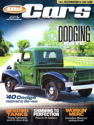 Old Cars Weekly Magazine | 9/3/2020 Cover