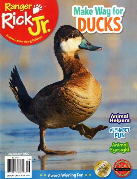 Ranger Rick Jr. Cover - 9/1/2020
