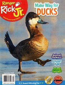 Ranger Rick Jr. | 9/2020 Cover