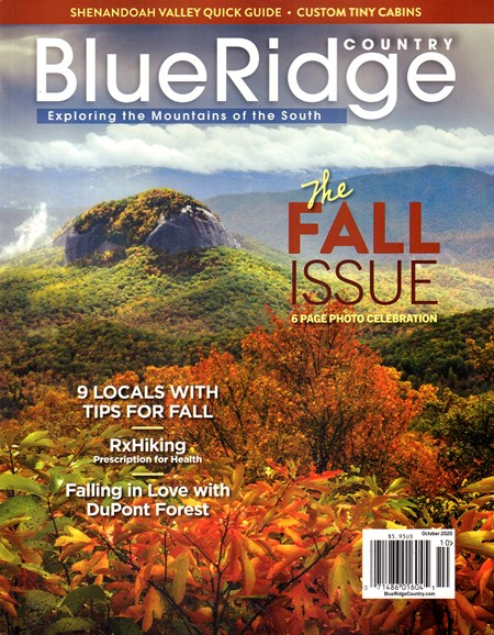 Blue Ridge Country Cover - 10/1/2020