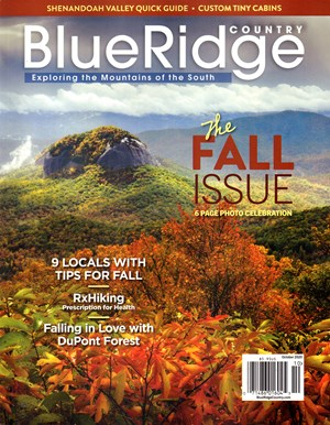 Blue Ridge Country Magazine | 10/2020 Cover