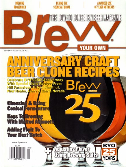 Brew Your Own Cover - 9/1/2020