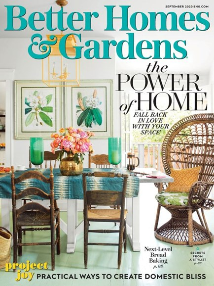 Better Homes & Gardens Cover - 9/1/2020