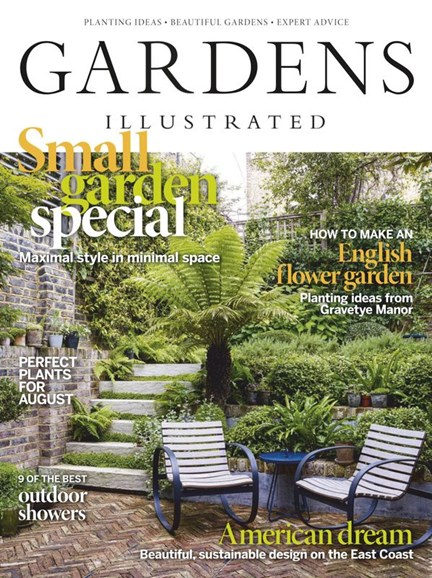 Gardens Illustrated Cover - 8/1/2020