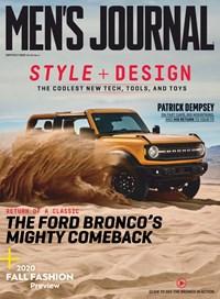 Men's Journal Magazine | 9/2020 Cover