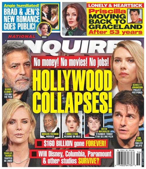 National Enquirer Cover - 9/7/2020