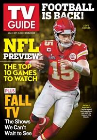 TV Guide Magazine   8/31/2020 Cover