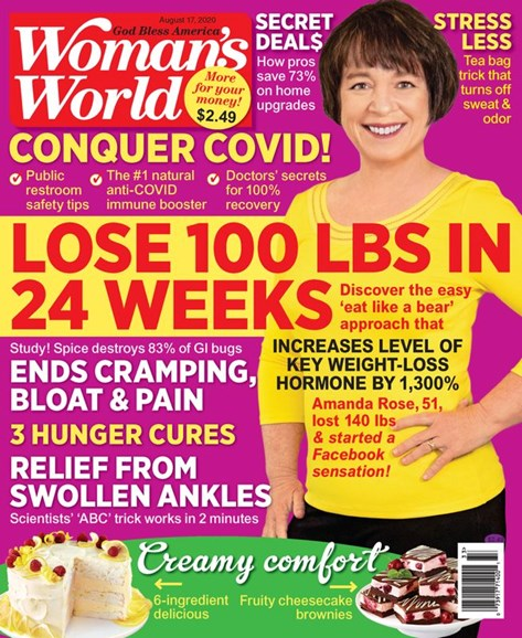 Woman's World Cover - 8/17/2020
