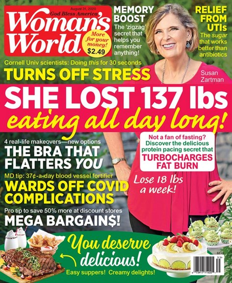 Woman's World Cover - 8/31/2020