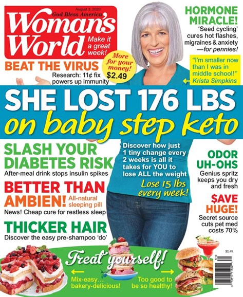 Woman's World Cover - 8/3/2020