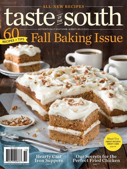 Taste of the South Cover - 10/1/2020
