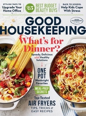 Good Housekeeping Magazine | 9/2020 Cover