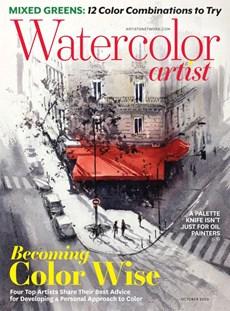 Watercolor Artist | 10/2020 Cover