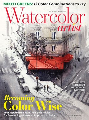 Watercolor Artist Magazine | 10/2020 Cover