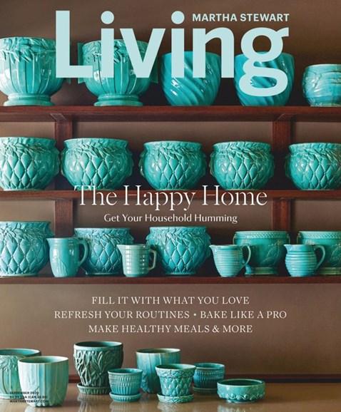 Martha Stewart Living Cover - 9/1/2020