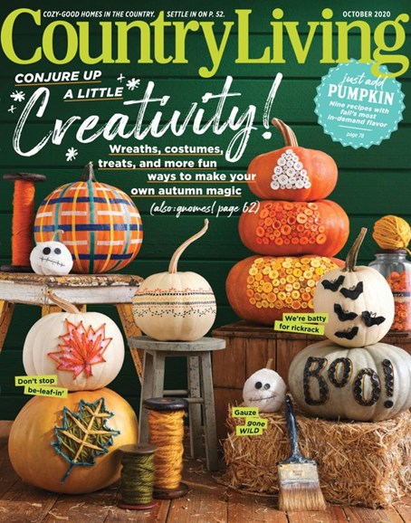 Country Living Cover - 10/1/2020