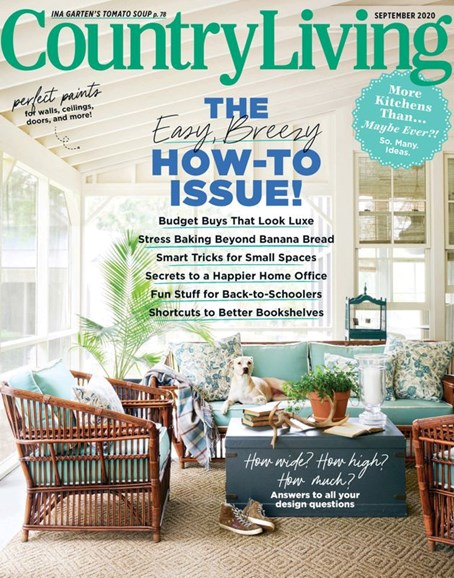 Country Living Cover - 9/1/2020