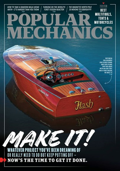Popular Mechanics Cover - 9/1/2020