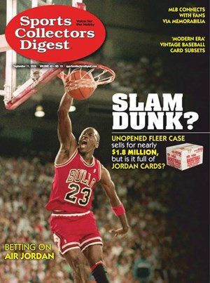 Sports Collectors Digest | 9/11/2020 Cover
