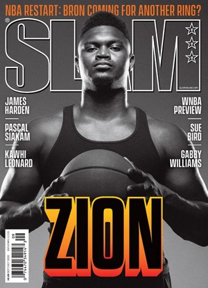 Slam Magazine | 9/2020 Cover