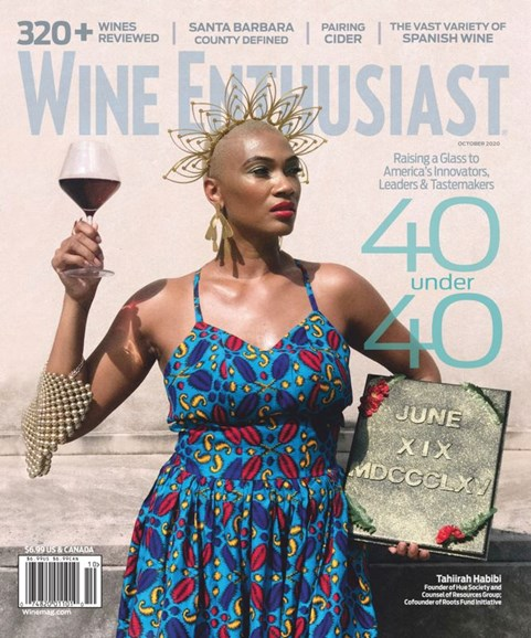 Wine Enthusiast Cover - 10/1/2020