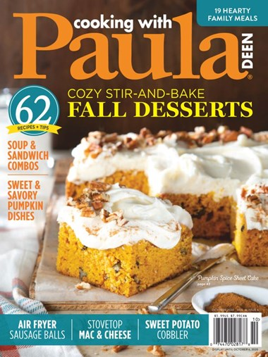 Cooking With Paula Deen | 10/2020 Cover