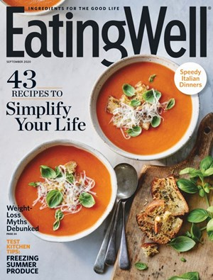 EatingWell Magazine | 9/1/2020 Cover