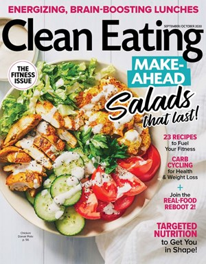 Clean Eating Magazine | 9/2020 Cover