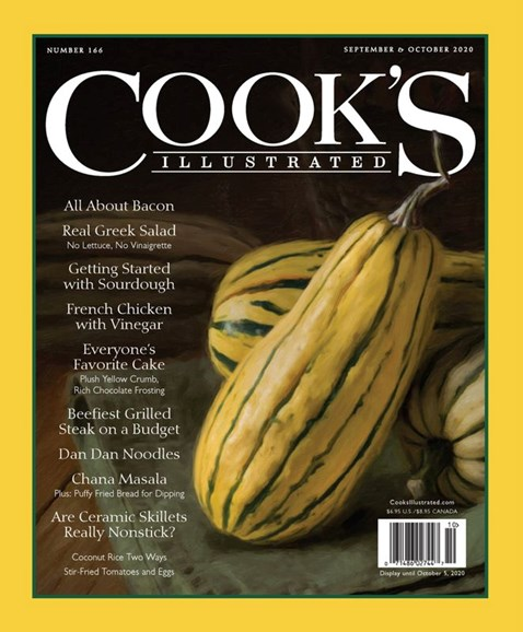 Cook's Illustrated Cover - 9/1/2020
