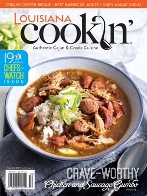 Louisiana Cookin' Magazine | 9/2020 Cover