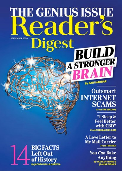 Reader's Digest Cover - 9/1/2020