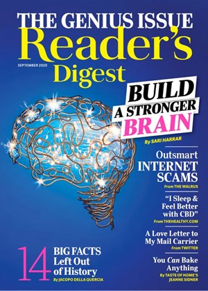 Reader's Digest Magazine | 9/2020 Cover