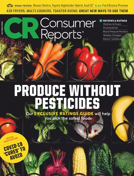 Consumer Reports Cover - 10/1/2020