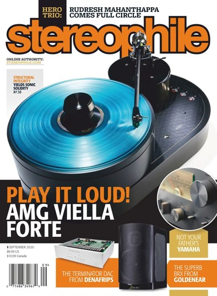 Stereophile Cover - 9/1/2020