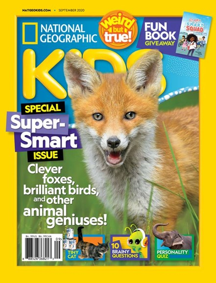 National Geographic Kids Cover - 9/1/2020