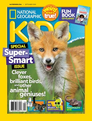 National Geographic Kids Magazine | 9/2020 Cover